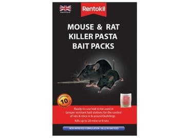 Mouse & Rat Killer Pasta Bait (Sachets 10)